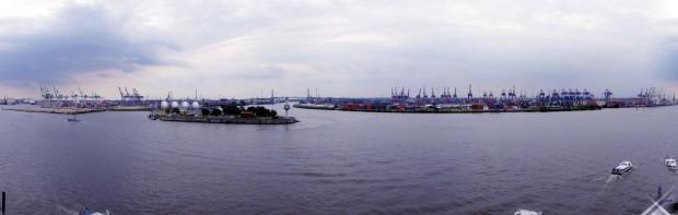 Panorámica Puerto (Hafen)