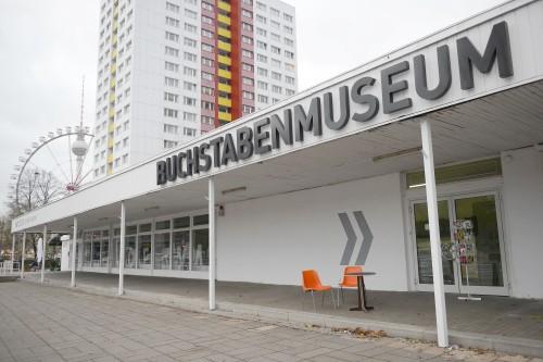 andrea katheder für BUCHSTABENMUSEUM, Berlin 2013