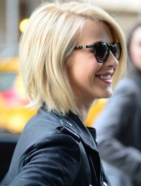 Straight-Bob-Hairstyles-Blonde-Short-Hair