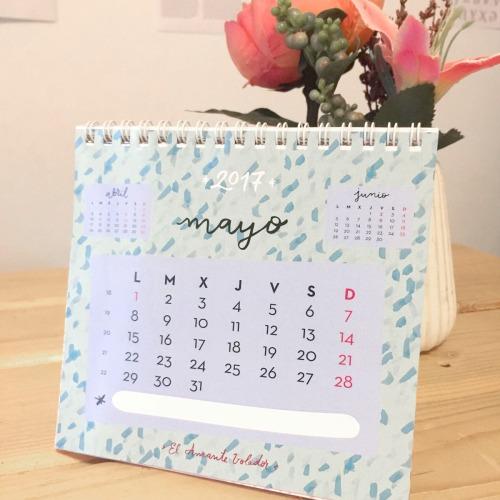 calendario EL AMANTE VOLADOR 10