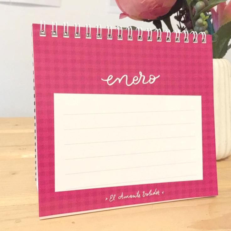 calendario EL AMANTE VOLADOR 09