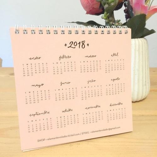 calendario EL AMANTE VOLADOR 04